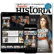 Populär Historia prenumeration med premie