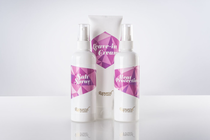 Salt Spray, Heat Protection och Leave-in Cream