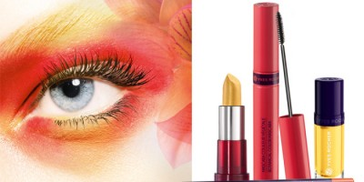Sommarens look går i soligt gult, orange, rosa och rött