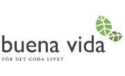 Fri frakt hos Buena Vida om du handlar för minst 1000 kr
